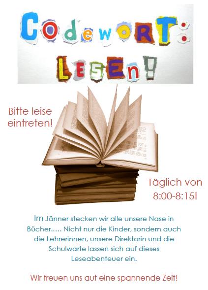 Lesen Plakat